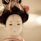 Kabuki doll