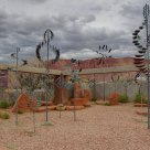 Wind Sculptures by Whitaker Studio at Kayenta