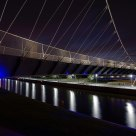 kortrijkse brug nacht