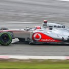 Button on Friday Practice