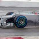 Schumacher in the wet