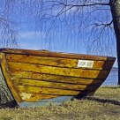 Once a boat, now...