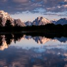 Light, Shadows, Water at Oxbow Bend