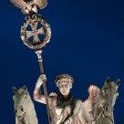 Quadriga, bearing the Iron Cross