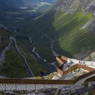 Viewpoint from Trollstigen / Norway