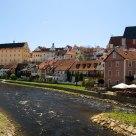 Tiny town, tiny river