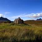 Abandoned  crofter's cottage