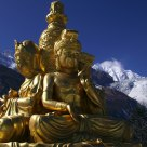 Buddhas on Minya Konka