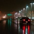 Night Cruisin' in a Snow Shower
