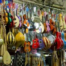 Musical Instruments at the Bazaar