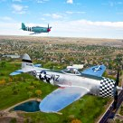 P-47 Thunderbolt and British Hawker Sea Fury
