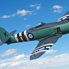 British Hawker Sea Fury