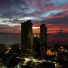 Manila Bay At Dusk