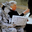Hombre-periódico/newspaper-man