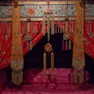 Chinese wedding bed