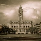 Storm at Oporto City Hall