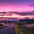 Sunset in Fujimi