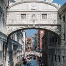 The Bridge of Sighs, linking the Doge's Palace and the notorious prisons
