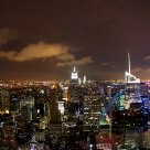 Manhattan at Night from the Top of The Rock