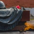 Fallen soldier monument