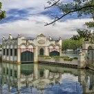 Reflejos en el lago Bañolas