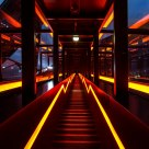 Zollverein - Escalators up to