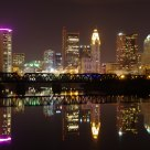 Skyline at night , Columbus Ohio