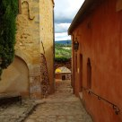 Alley of Roussillon