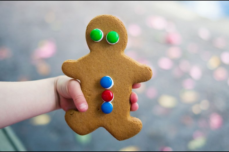 Gingerbread girl!