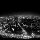 Aero view from top of the world, Burj Khalifa, Dubai