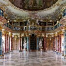 Library Hall of Wiblingen Abbey