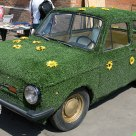 This is a GREEN car as well, isn't this?
