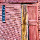Door to Red Barn