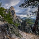 Castle Crags Landscape