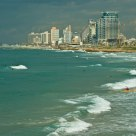 Winter morning in Tel Aviv