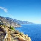 Road along the seaside