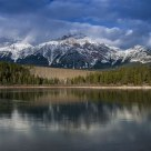 Patricia Lake Afternoon