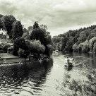 River Wye B&W