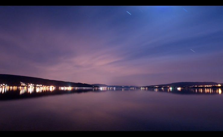 Night over the Gnadensee