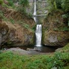 Multnomah Falls, Wide Angle View