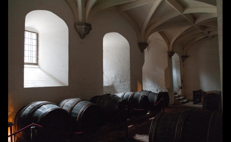 Where the wines are kept