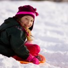 Lanette Sledding