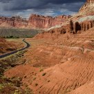 Scenic Drive through Capitol Reef
