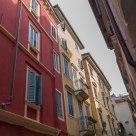 Backstreet facades, Verona