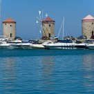 Rhodos. Three mills