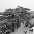 Shixin Peak in Snowstorm