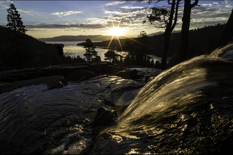 Sunrise over Eagle Falls, Lake Tahoe