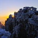 Sunrising over Shixin Peak