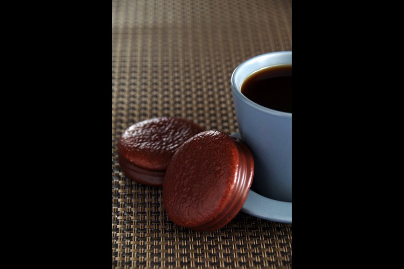 Choco pie and coffee