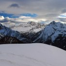 View from Sella pass